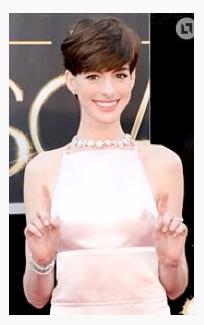 Pezones de Anne Hathaway